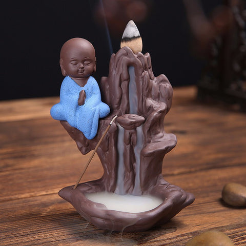 Buddha Mountain Stream Incense Burner