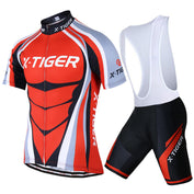 5D Gel Padded Cycling Jersey Set - 50% OFF