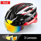 2-in-1 Bicycle Helmet Glasses - 50% OFF