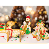 3D Christmas Scenario Cookie Cutter Set - 50% OFF TODAY