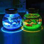 3D Micro Aquarium Night Lamp - My Passion Street