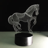 3D Illusion Horse Lamp - 50% OFF