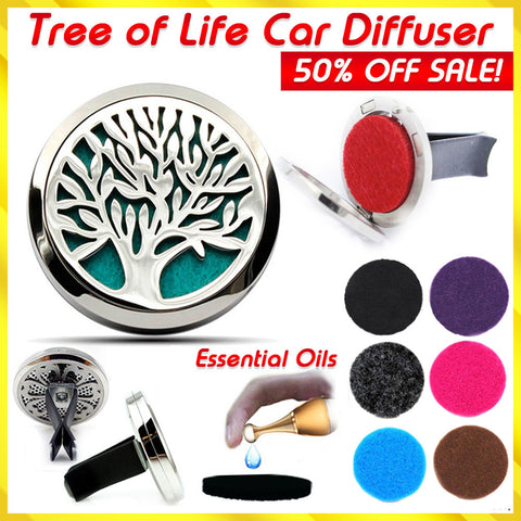 Tree of Life Essential Oils Car Diffuser - 50% OFF!