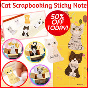 Cute Cat Scrapbooking Sticky Notes - 50% OFF! - My Passion Street