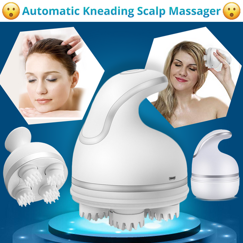 Automatic Kneading Scalp Massager - 50% OFF - My Passion Street