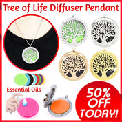 Tree of Life Diffuser Pendant - 50% OFF Today! - My Passion Street