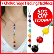 7 Chakra Yoga Healing Necklace - 50% OFF Today!