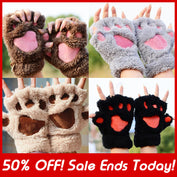Fashion Fingerless Furry Cat Gloves - 50% OFF Today! - My Passion Street