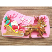 Santa Claus on Sleigh Baking Mold - 50% OFF TODAY