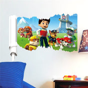 Paw Patrol Wall Stickers Home Decoration - My Passion Street