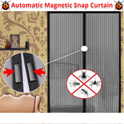 Automatic Magnetic Snap Curtain - 50% OFF - My Passion Street