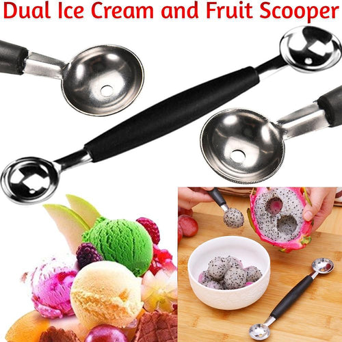 Dual Ice Cream and Fruit Scooper