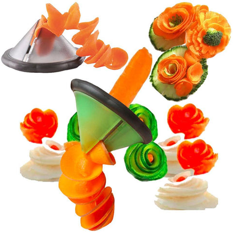 Vegetable Garnish Spiral Cutter - 50% OFF Today!