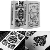 Steampunk Bicycle Playing Cards - 50% OFF