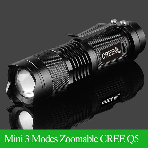 Mini LED Zoomable Waterproof Flashlight - My Passion Street