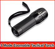 Zoomable Tactical Waterproof Torch Light - My Passion Street