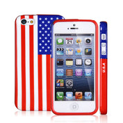 US Flag Iphone 5 5s Silicon Case