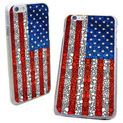 Patriotic Flag Iphone Case Hard Cover