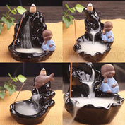 Buddha Koi Pond Incense Burner