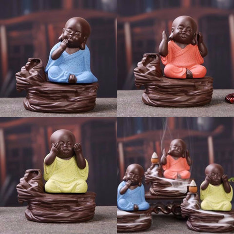 Buddha Rock Incense Burner