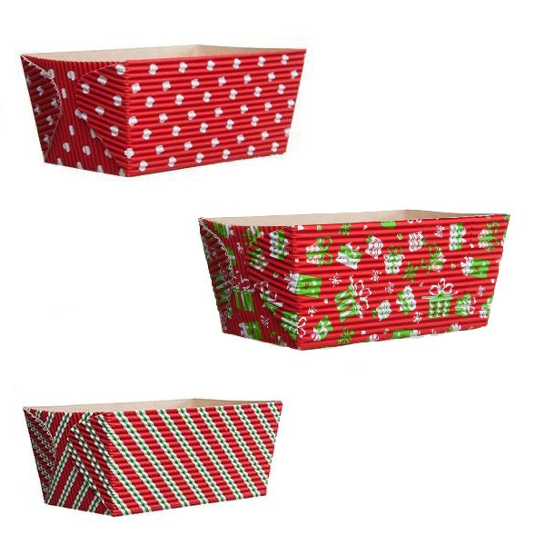 "4.5"" Loaf Pan Set, Holiday I"