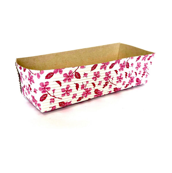 "7"" Loaf Pan Set, Cherry Blossom (Set of 50)"