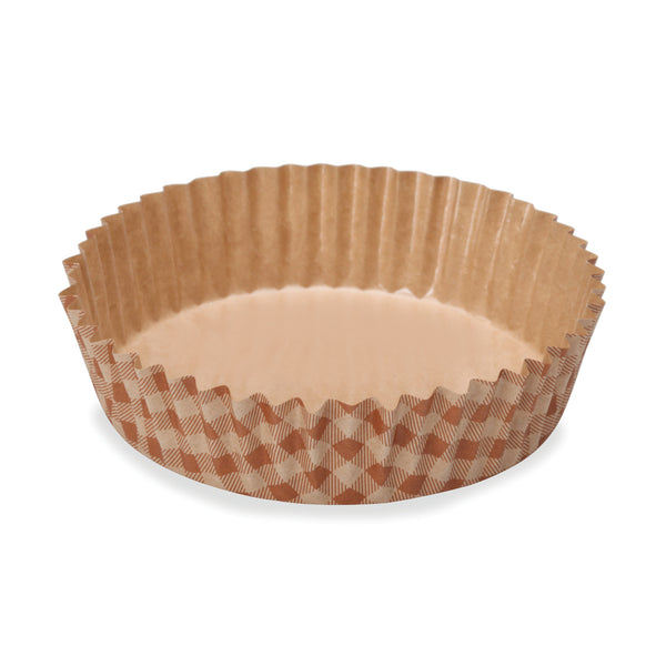 "4"" Ruffled Baking Cup, Check (Set of 300)"