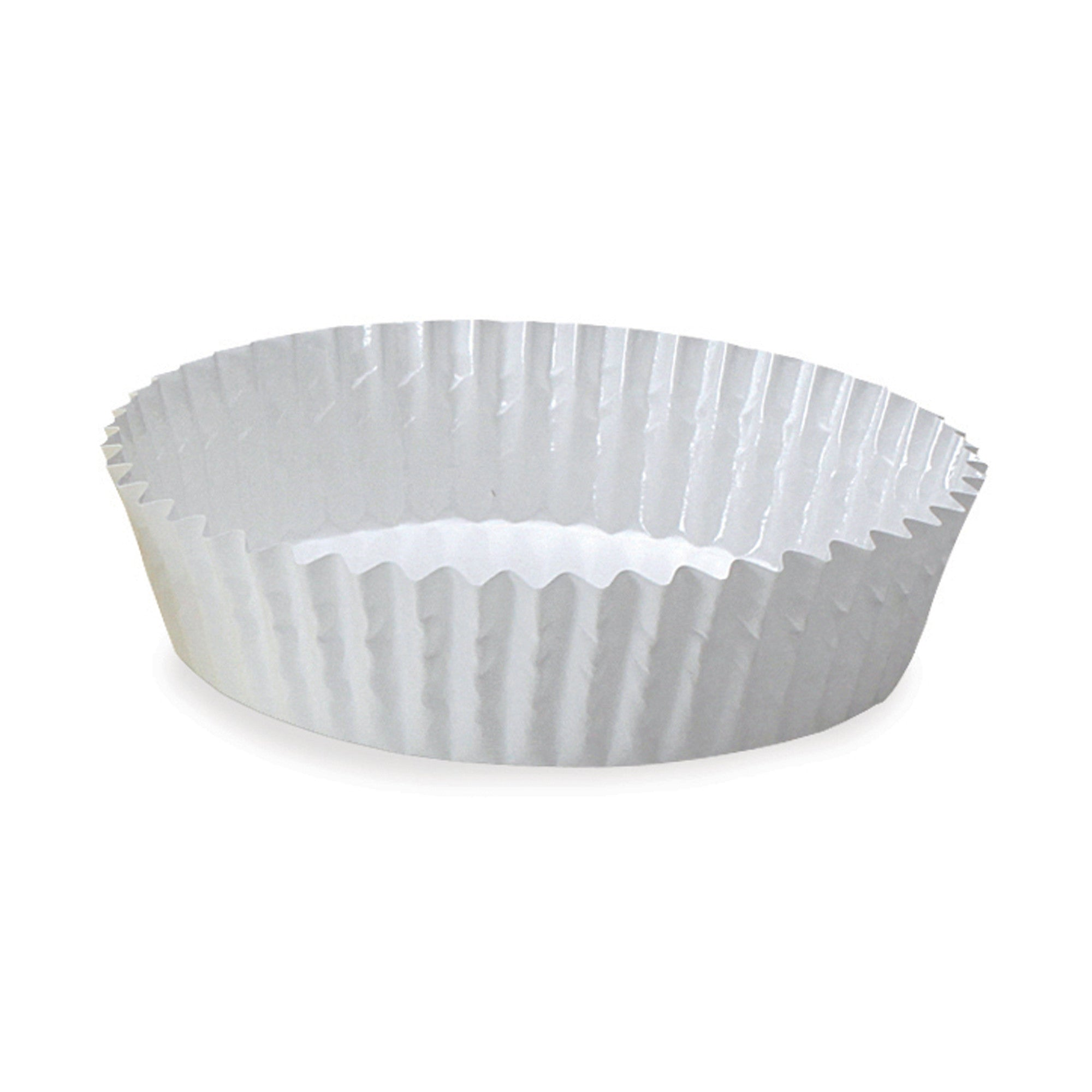 Ruffled Baking Cups, PTC12030W - Welcome Home Brands