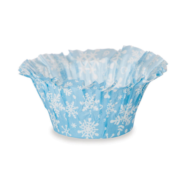 Muffin Basket Set, Frost Snowflake (Set of 300)