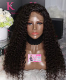 Full Lace Deep Wave Wig (Transparent Lace)