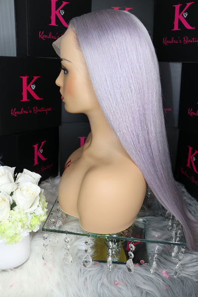 "Ready To Ship ""Silver"" Full Lace Wig"