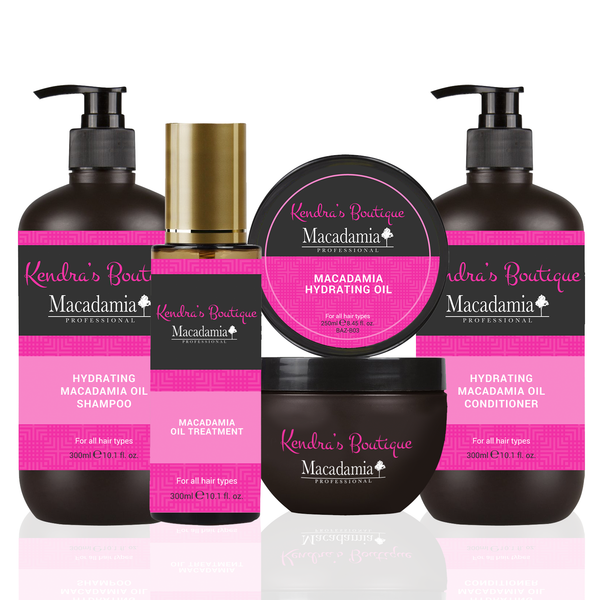 Hair Barb Macadamia Hair Care Product Kit