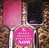 Hair Barb Pink Barbie Brush