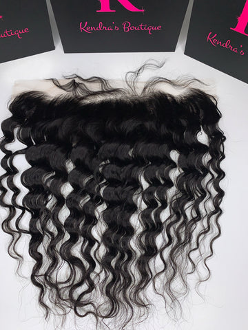 Deep Wave Lace Frontal (HD Lace)