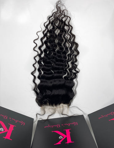 HD Loose Curly Lace Closure