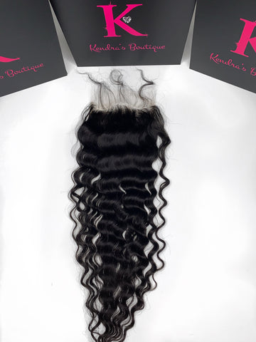 Deep Wave Lace Closure (5x5 HD Lace)