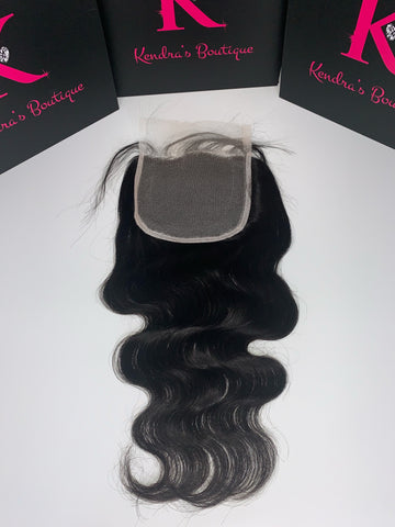 Body Wave Lace Closure (5x5 HD Lace)