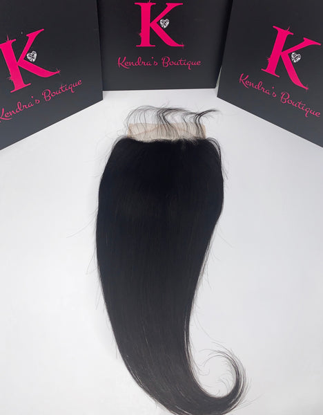 Straight Lace Closure (5x5 HD Lace)