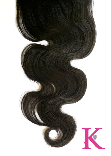 Body Wave Closure (4x4 Transparent Lace)