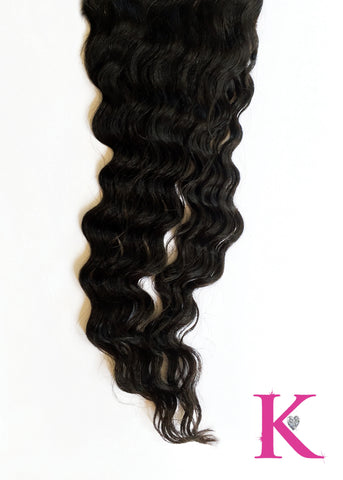 Deep Wave Lace Closure (5x5 Transparent Lace)