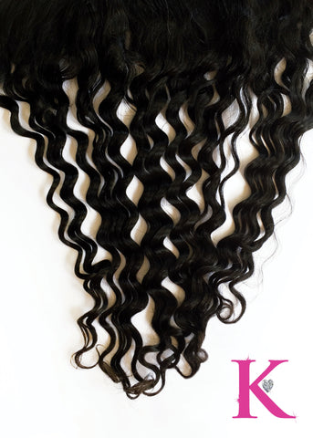 Deep Wave Frontal (Transparent Lace)