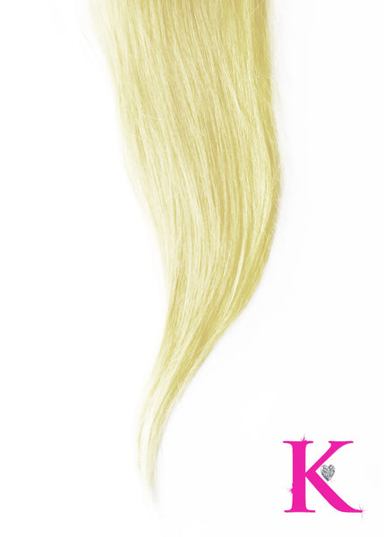 Platinum Blonde Closure (Transparent Lace)