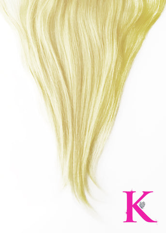 Platinum Blonde Lace Frontal (Transparent Lace)