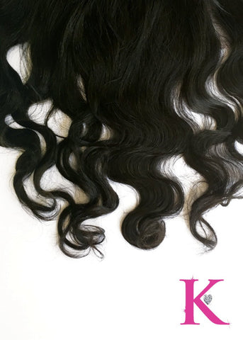 Body Wave Frontal (Transparent Lace)