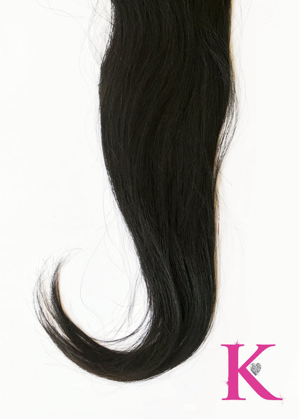 Straight Lace Closure (Transparent Lace)