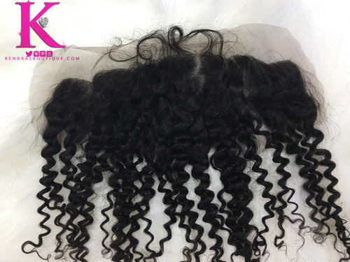 Exotic Curly Frontal (Natural Brown Lace)