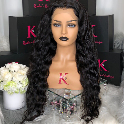 Full Lace Body Wave Wig (Transparent Lace)
