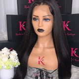 Full Lace Straight Wig (Transparent Lace)