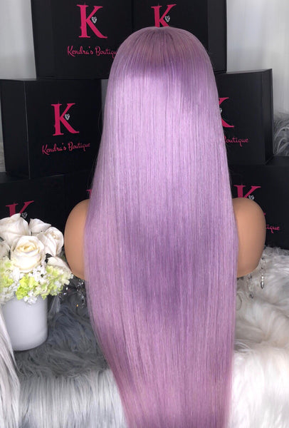 "READY TO SHIP ""LAVENDER"" FULL LACE WIG"