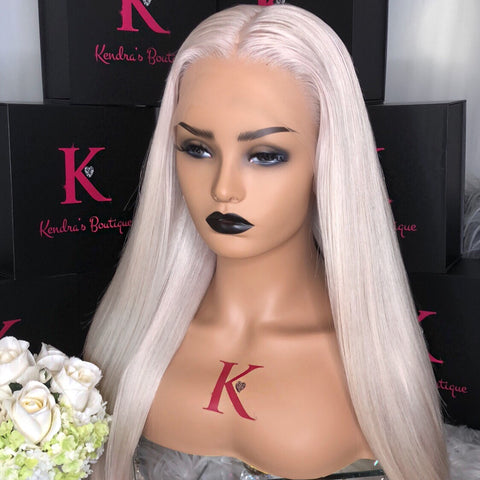 "Ready To Ship ""Ash Blonde"" #60 Full Lace Wig"